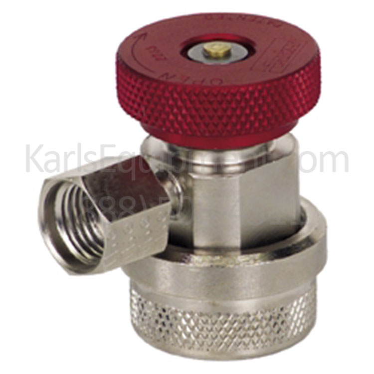 023 80095 00 Mahle RTI Parker Red High Side Service Coupler for R134a Machines and Gauge Sets