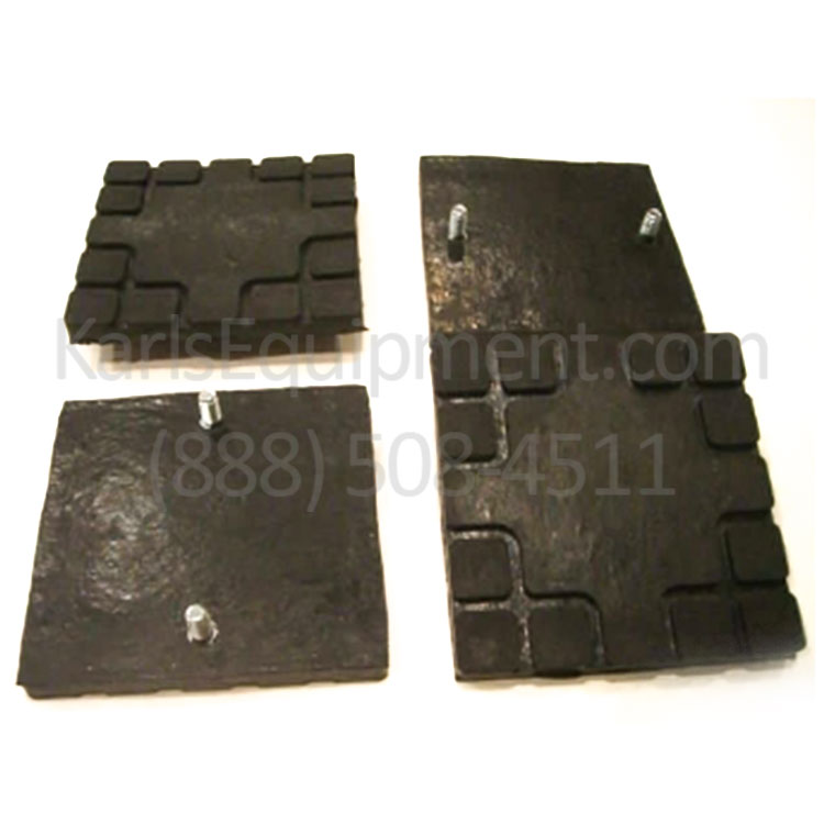A1104 Challenger Lift Square pads for CL9 and CL10 Set of 4 Pads