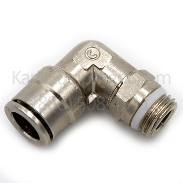 3-00053 Corghi Swivel Push Elbow Fitting 1/8M X 6F