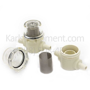 300 80051 00 Mahle RTI ATX Sight Glass Kit, Sight Glass Bowl, Filter, O'Ring (2 ea.)