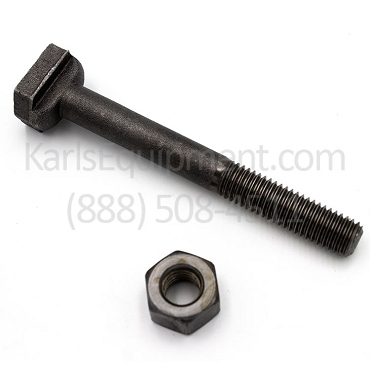 433633 & 433617 Accu-Turn T-Slot Bolt and Heavy Hex Nut